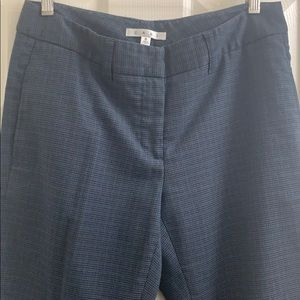 Cabi 245 cropped pants mini houndstooth size 6